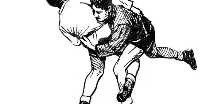 Կոխ: Հնար 5: Կառչում ոտնաթաթով՝ դրսից